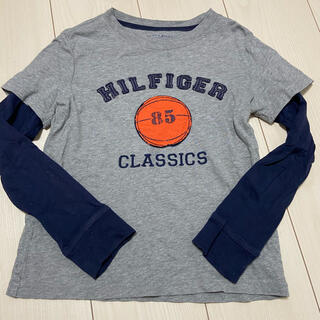 TOMMY HILFIGER - トミーフィルフィガー 重ね着風ロンT 長袖Tシャツ130