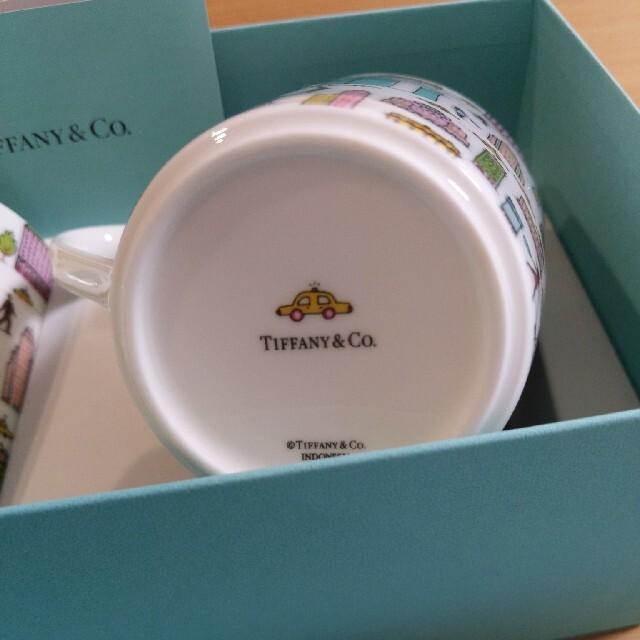 Tiffany & Co.(ティファニー)の★SAGE様専用★TIFFANY  新品 マグカップ インテリア/住まい/日用品のキッチン/食器(食器)の商品写真
