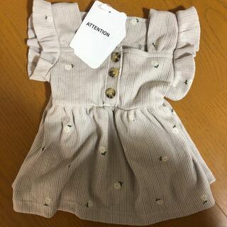 futafuta - mamaraku スクエアTシャツ 80