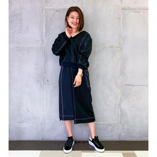 GRACE CONTINENTAL - 【美品・セットアップ】グレースコンチネンタル 切替ドロストカットトップ スカート