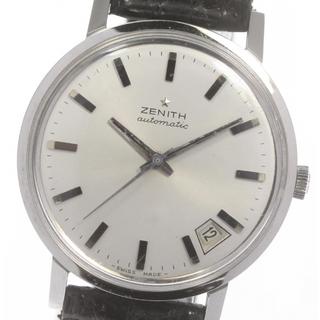ゼニス(ZENITH)のゼニス ラウンド Cal.2562PC デイト  自動巻き メンズ 【中古】(腕時計(アナログ))