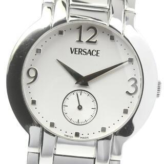 ヴェルサーチ(VERSACE)のヴェルサーチ  スモールセコンド BLQ99 クォーツ メンズ 【中古】(腕時計(アナログ))