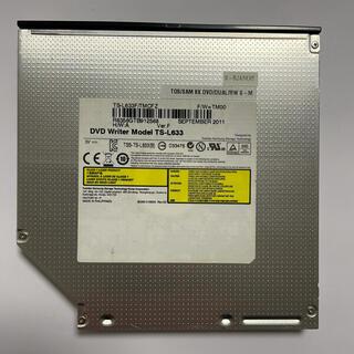 トウシバ(東芝)のノートパソコン用DVDドライブ(PCパーツ)