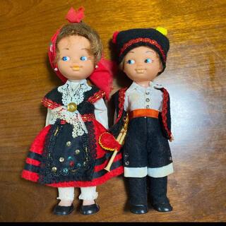 ヨーロッパ 人形 お土産(ぬいぐるみ)