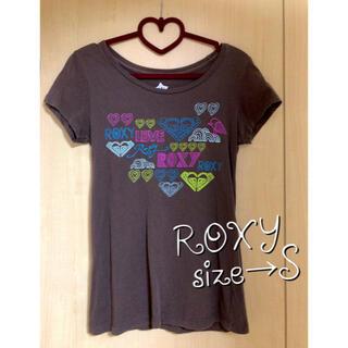 Roxy - ROXY★ブラウン★Tシャツ★POPなイラストデザイン★カラフル★限界価格