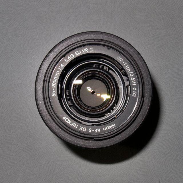 Nikon(ニコン)のAF-S DX Nikkor 55-200mm f4.5-5.6GII VR スマホ/家電/カメラのカメラ(レンズ(ズーム))の商品写真