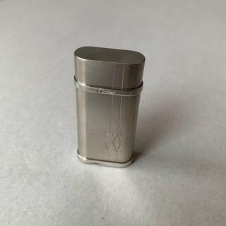 カルティエ(Cartier)のカルティエ ライン&ロゴ デコール ガスライター Cartier(タバコグッズ)