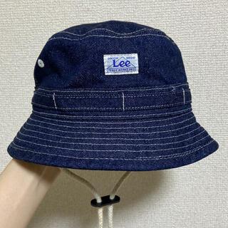 Lee - LEE デニムハット ストンプスタンプ キッズバケットハット 52cm