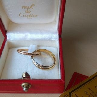 Cartier - Cartier カルティエ トリニティ リング #52