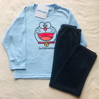 サンリオ(サンリオ)の新品未使用長袖パジャマ110cmドラえもん男の子上下セットサンリオ(パジャマ)