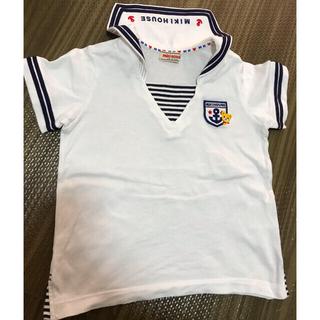 mikihouse - ミキハウス セーラー襟tシャツ 2枚 美品あり