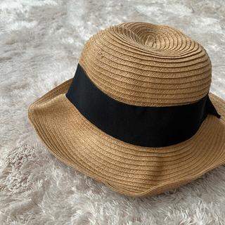 エニィファム(anyFAM)の美品 帽子 ハット キッズ anyfam エニィファム リボン(帽子)