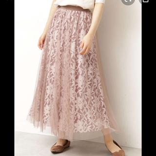 PROPORTION BODY DRESSING - 未使用⭐︎プロポーションボディドレッシング ピンク チュールレーススカート