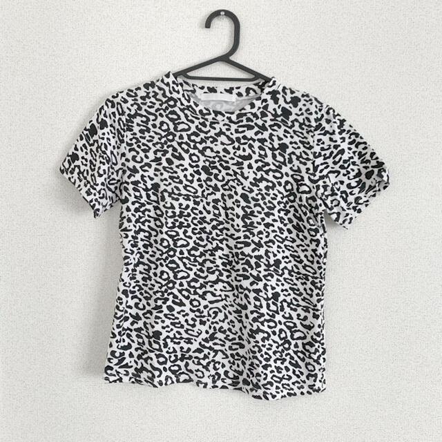 jouetie(ジュエティ)のダルメシアン 柄 タイト Tシャツ レディースのトップス(Tシャツ(半袖/袖なし))の商品写真