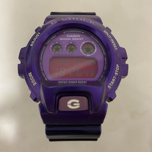 G-SHOCK(ジーショック)のG-SHOCK DW-6900 CC パープル メンズの時計(腕時計(デジタル))の商品写真