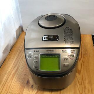 三菱 - 三菱 圧力IH炊飯器(5.5合) NJ-TX10-N プレシャスゴールド