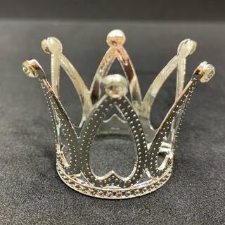 王冠 台座 スフィア置き シルバー