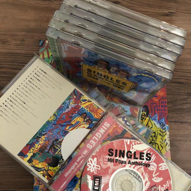 SINGLES HITPOPSAnthology1968-1982 12枚セット エンタメ/ホビーのCD(ポップス/ロック(洋楽))の商品写真