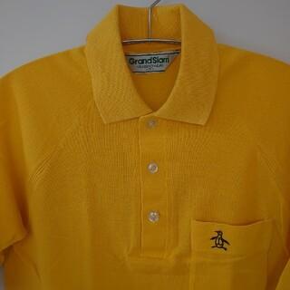 Munsingwear - マンシングウェア 昭和レトロポロシャツ S 刺繍 グランドスラム