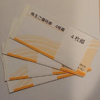アルペン 株主優待 8000円分(500円×16枚)