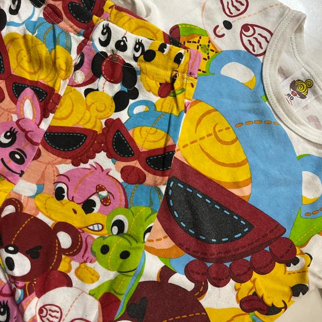 HYSTERIC MINI(ヒステリックミニ)の3点セット80 キッズ/ベビー/マタニティのベビー服(~85cm)(ロンパース)の商品写真