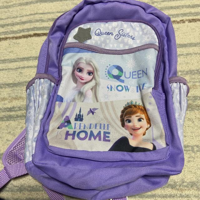 Disney(ディズニー)のアナ雪リュック キッズ/ベビー/マタニティのこども用バッグ(リュックサック)の商品写真