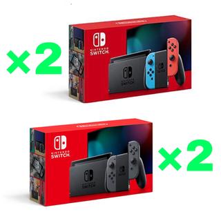 Nintendo Switch - 【新品未開封】 Nintendo Switch 本体 4台 セット