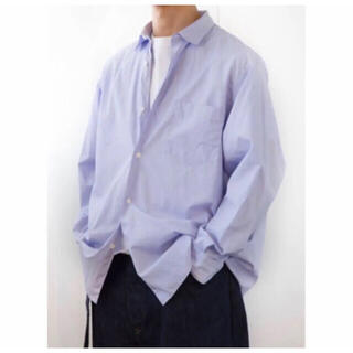 COMOLI - COMOLI  コモリ  20aw  ポプリンシャツ サイズ1