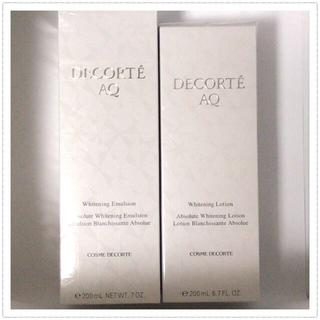 COSME DECORTE - コスメデコルテ AQ ホワイトニング 化粧水 & 乳液 セット