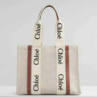 Chloe - Chloe クロエ woody トートバッグSサイズ