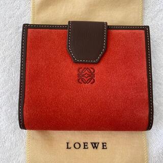 LOEWE - LOEWE レザー2つ折りミニ財布