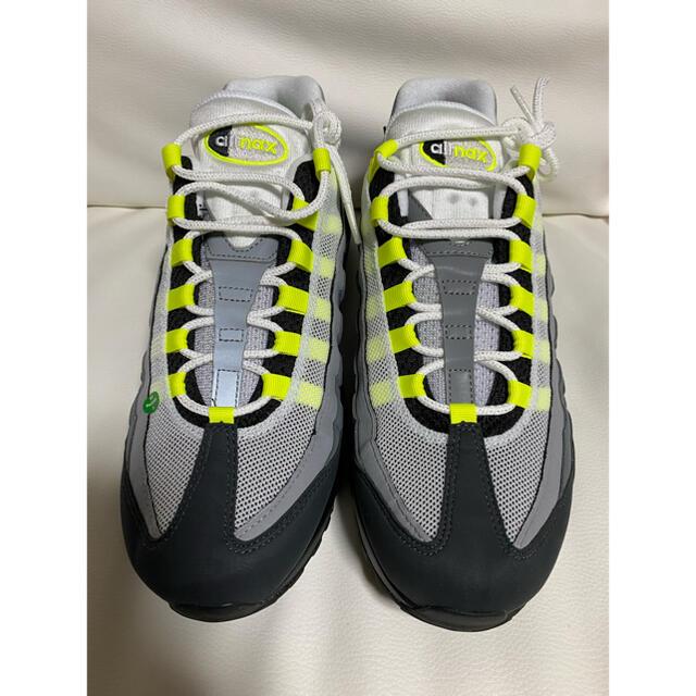 "NIKE(ナイキ)のNIKE AIR MAX 95 OG ""NEON YELLOW"" 2020 メンズの靴/シューズ(スニーカー)の商品写真"
