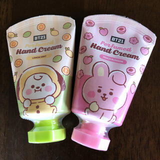 ハンドクリーム COOKY CHIMMY BTS BT21 グク ジミン セット