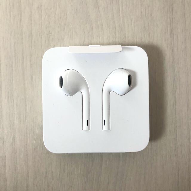 iPhone(アイフォーン)の新品未使用 iPhone 純正イヤホン スマホ/家電/カメラのオーディオ機器(ヘッドフォン/イヤフォン)の商品写真