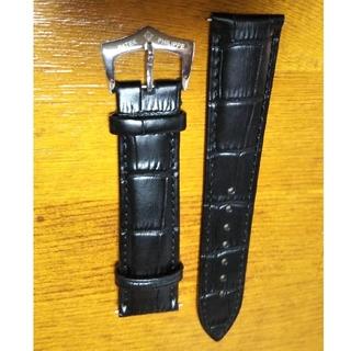 パテック・フィリップ尾錠付き型押しベルト