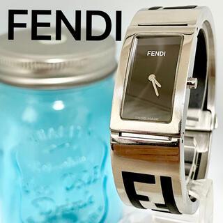 FENDI - 157 ズッカ柄 フェンディ時計 レディース腕時計 ブレスレット ハングル
