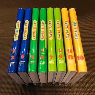 Disney - DWE ディズニー英語 レッツプレイ DVD 8枚 字幕切替・プレビュー機能付