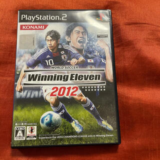 PlayStation2 - ワールドサッカー ウイニングイレブン ウイイレ 2012 PS2 ソフト
