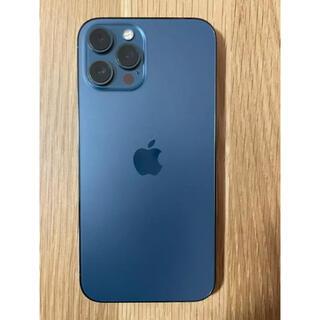 Apple - iphone12pro max 128GB パシフィックブルー SIMフリー