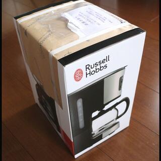 新品未使用 ラッセルホブス コーヒーメーカー(5杯用) 7620JP