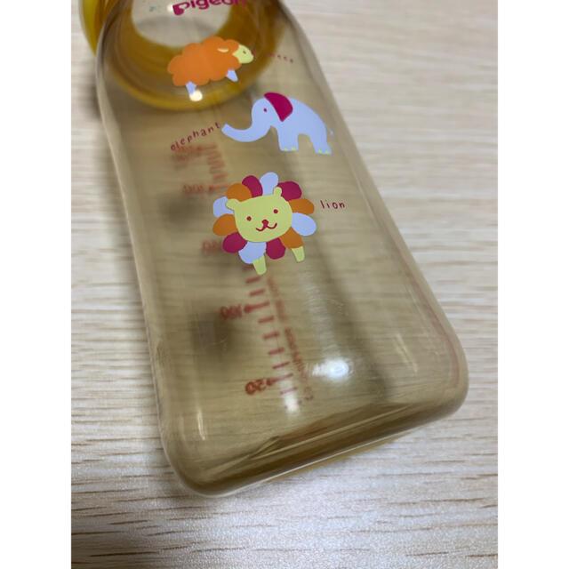 Pigeon(ピジョン)のピジョン 哺乳瓶 プラスチック  キッズ/ベビー/マタニティの授乳/お食事用品(哺乳ビン)の商品写真