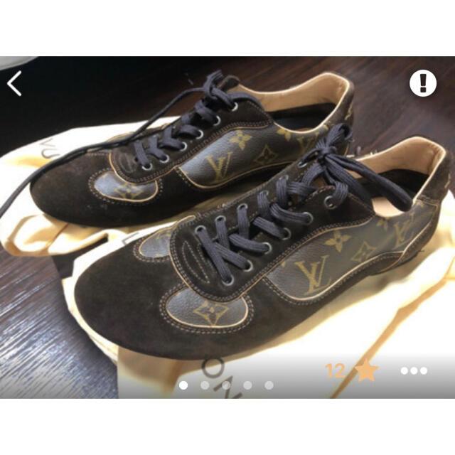 LOUIS VUITTON(ルイヴィトン)のルイヴィトン モノグラム柄 サイズ26.5cm メンズの靴/シューズ(スニーカー)の商品写真