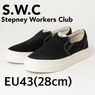 ジュンヤワタナベコムデギャルソン(JUNYA WATANABE COMME des GARCONS)のS.W.C. Stepney Workers Club Suedeスリッポン28(スリッポン/モカシン)