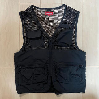 Supreme - supreme mesh vest S ベスト