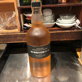 サントリー - サントリーシングルグレーンウイスキー知多蒸留所特製グレーン未開封