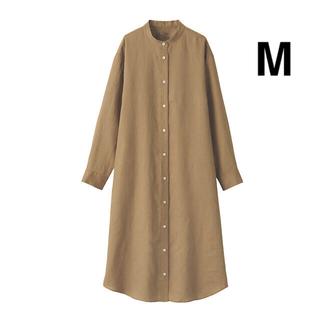 MUJI (無印良品) - 無印良品 スタンドカラーワンピース M
