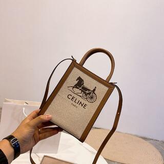 celine -  celine mini tote bag ショルダーバッグ