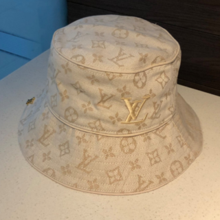 LOUIS VUITTON - LOUIS VUITTON ホワイト ハット