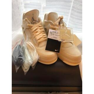 ナイキエア ジョーダン4Nike x Off-White Air Jordan4