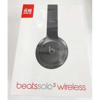 Beats by Dr Dre - Beats Solo3 Wireless オンイヤーヘッドフォン ブラック 未開